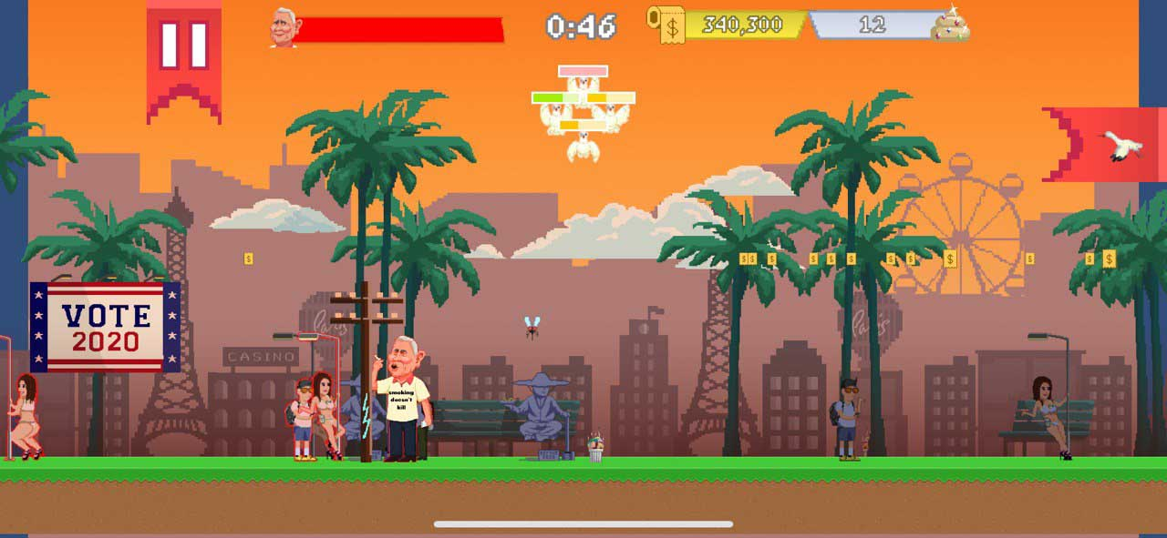 The mobile game 'Pigeon Poolitics' is trying to make American politics more bearable by giving it a fresh, fun face. Get to know the game's creators.