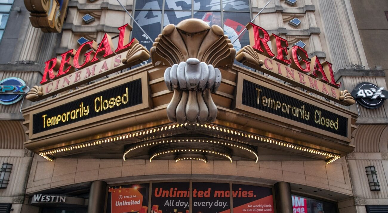 Regal Cinemas parent company Cineworld announced today they're considering temporary location closures. Is it because of 'No Time to Die'?