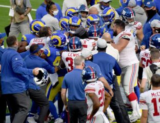 Why was the Rams vs. Giants game so heated? Read the latest tea on the feud between Golden Tate and Jalen Ramsey today.
