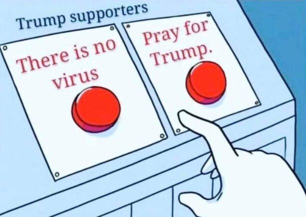 Both U.S. President Donald Trump and First Lady Melania Trump has tested positive for coronavirus. Naturally, Twitter has memes about it.