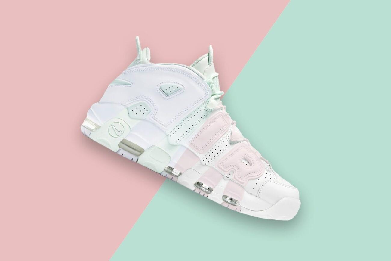 ¿Rosa y blanco o blanco y menta? Averigua de qué color son los tenis de Billie Eilish realmente para ponerle fin a esta otra ilusión óptica de la ropa.
