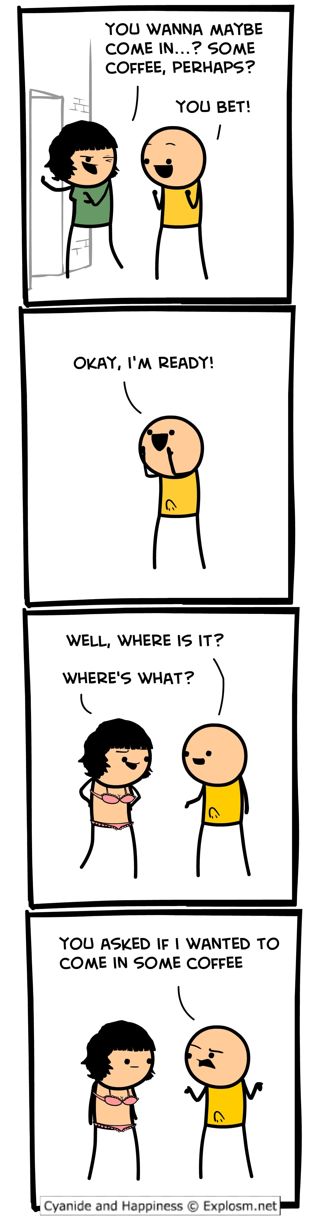 'Cyanide and Happiness' has been a longstanding dark humor comic online. Check out the best memes and panels from the series.