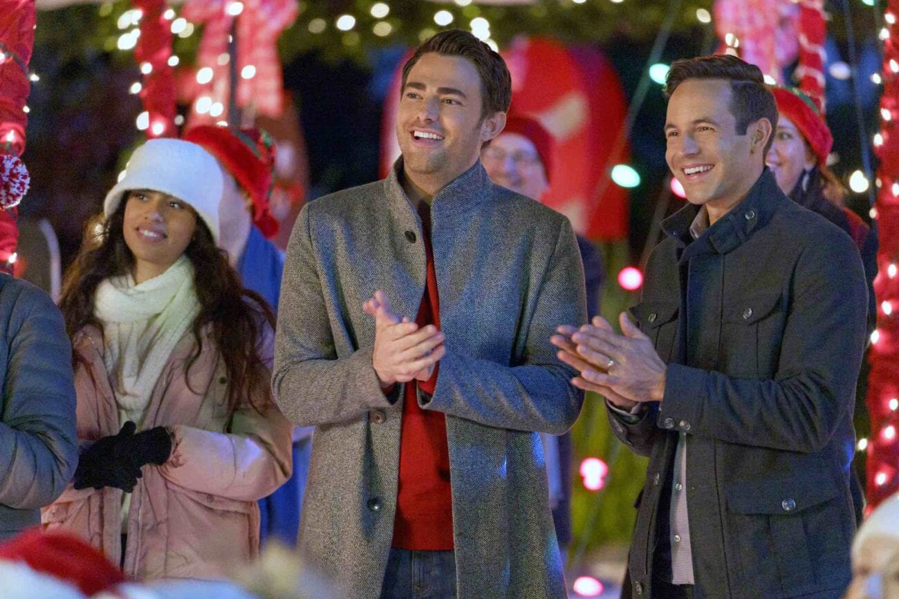 Gearing up for this year's Hallmark Christmas movie schedule? Here's a look at their fist gay Christmas movie, 'The Christmas House'.