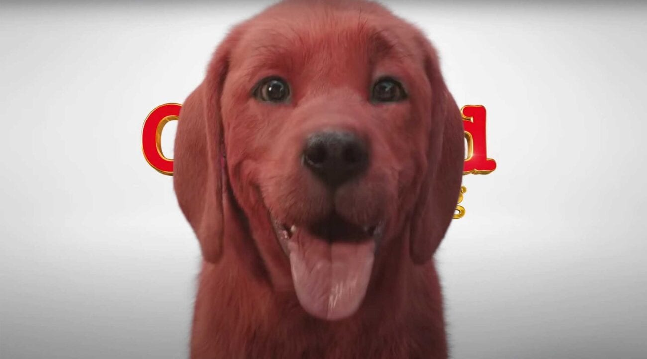 The iconic children's story 'Clifford the Big Red Dog' is getting a movie with a terrifying CGI dog. Check out the best memes on Twitter.