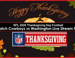Watch the Cowboys vs Washington Football Team game live on Thanksgiving for free! Don't miss this NFL game.