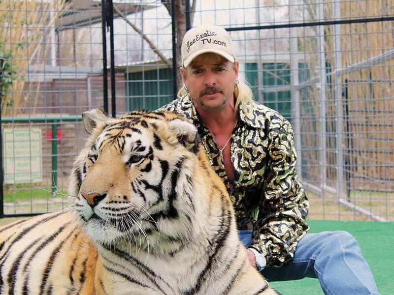 Convicted felon Joe Exotic has asked for a Presidential pardon from President Donald Trump. What does Donald Trump, Jr. have to do with it?