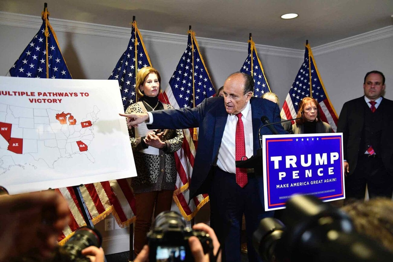 Here's what happened at the Donald Trump press conference at the White House. What are experts saying about Giuliani's claims?