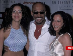 Kamala Harris is the assumed VP-elect, so it surprised some when they found out she used to date the talk show host Montel Williams.