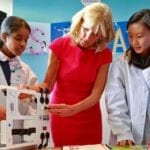 Dr. Jill Biden is expected to become the next first lady in January, but she will continue her teaching job. What's it like to be in her class?