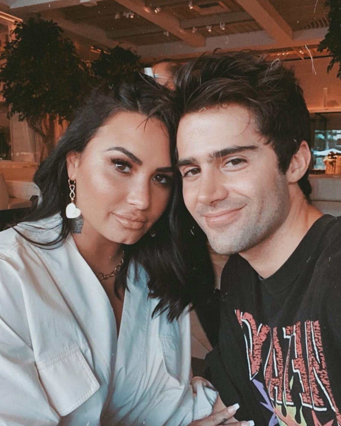 Demi Lovato's ex-fiancé Max Elrich is sick of her shenanigans. What has he said on Instagram? Here's what happened between Lovato & Elrich.