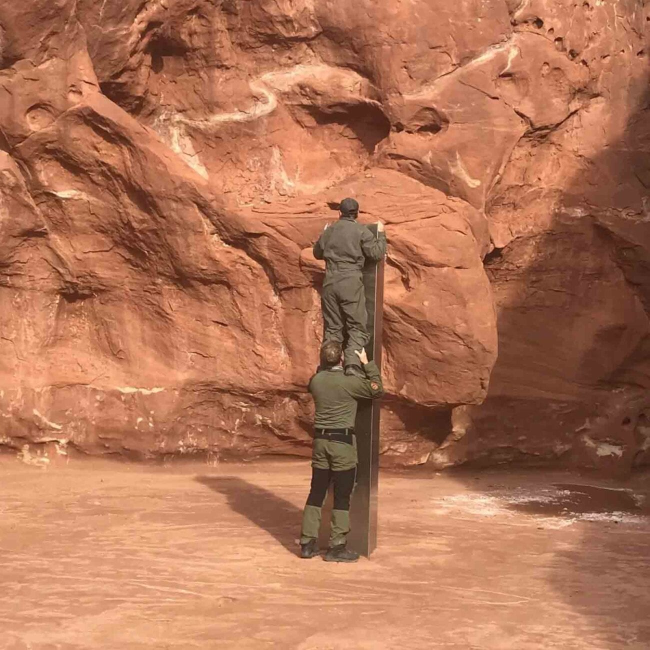 Safety officers spooted a strange metal monolith in Utah. Could this weird object be proof UFOs are real?