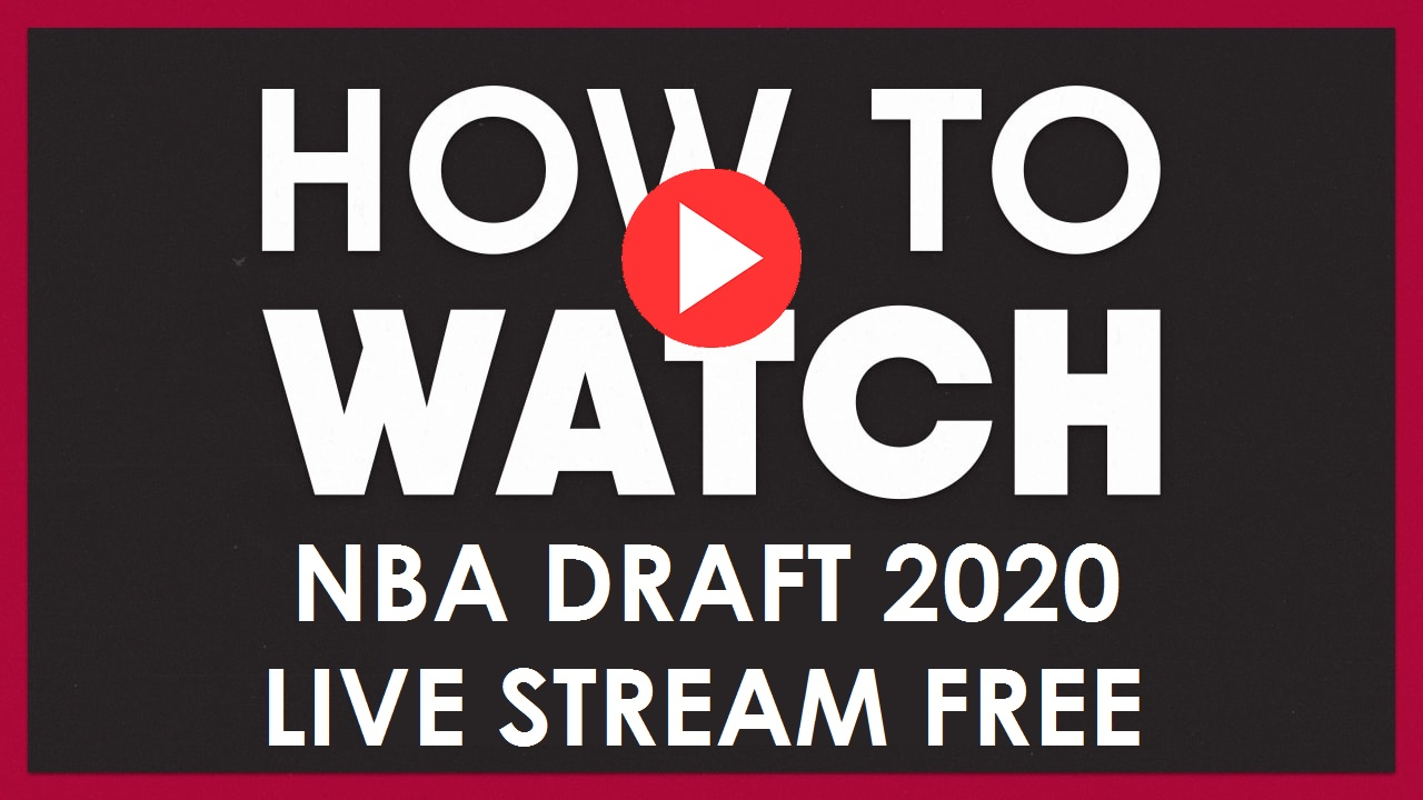 Don't wait! Get all the latest news and you can watch NBA Draft 2020 on a Reddit live stream. Here's how.