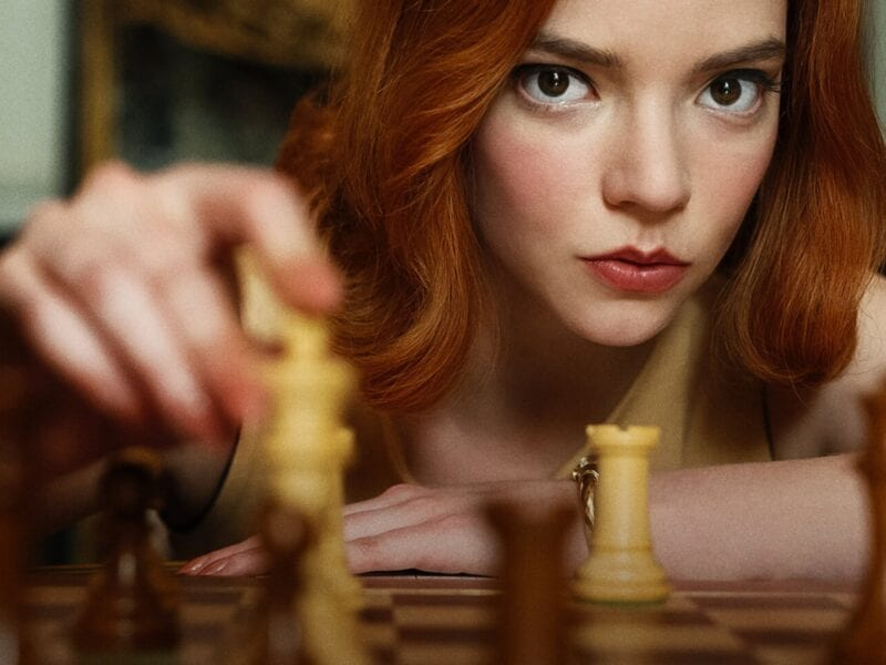 Netflix's 'The Queens Gambit' tells the story of a young girl competing in the man's world of international chess. What does addiction have to do with it?