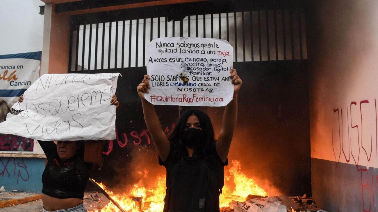¿Qué pasó en la manifestación feminista a inicios de noviembre? Entérate de las noticias sobre la marcha de Cancún.