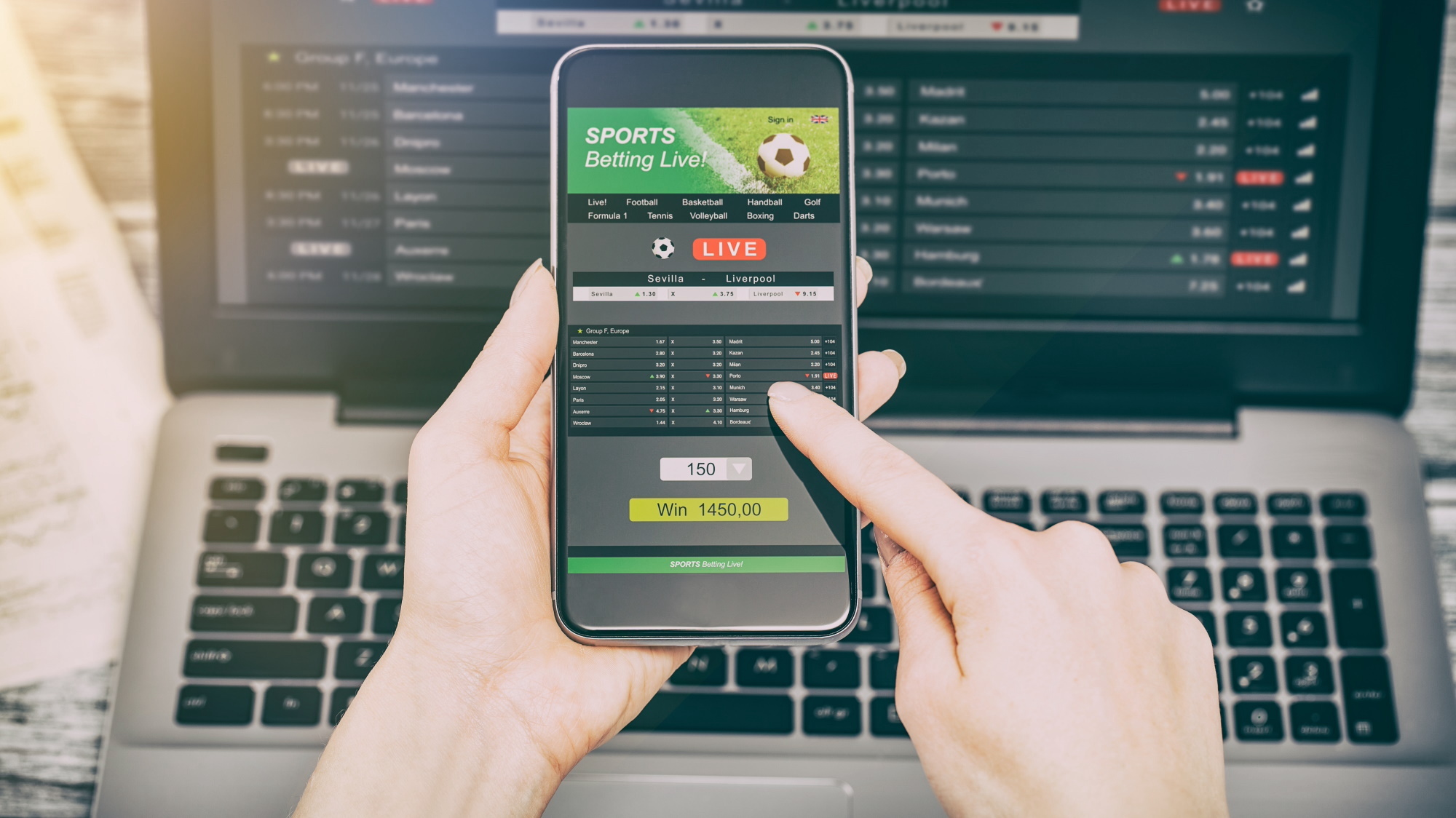 How to online sports betting mauro betting saiu da band