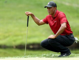 Even if you know absolutely nothing about golf, you know who Tiger Woods is. What was his Masters score? Let's find out.
