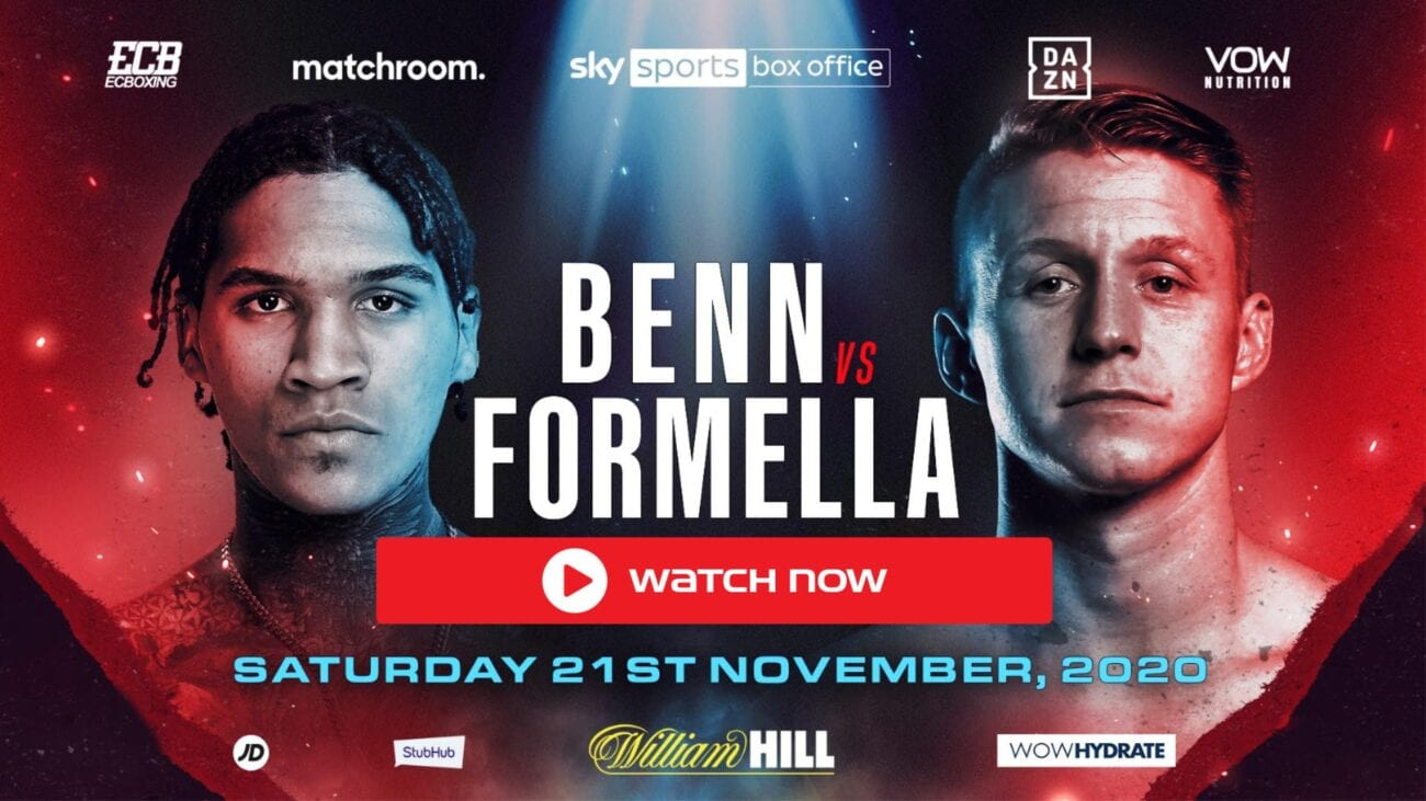 Find out where to watch the UFC fight between Conor Benn and Sebastian Formella live.