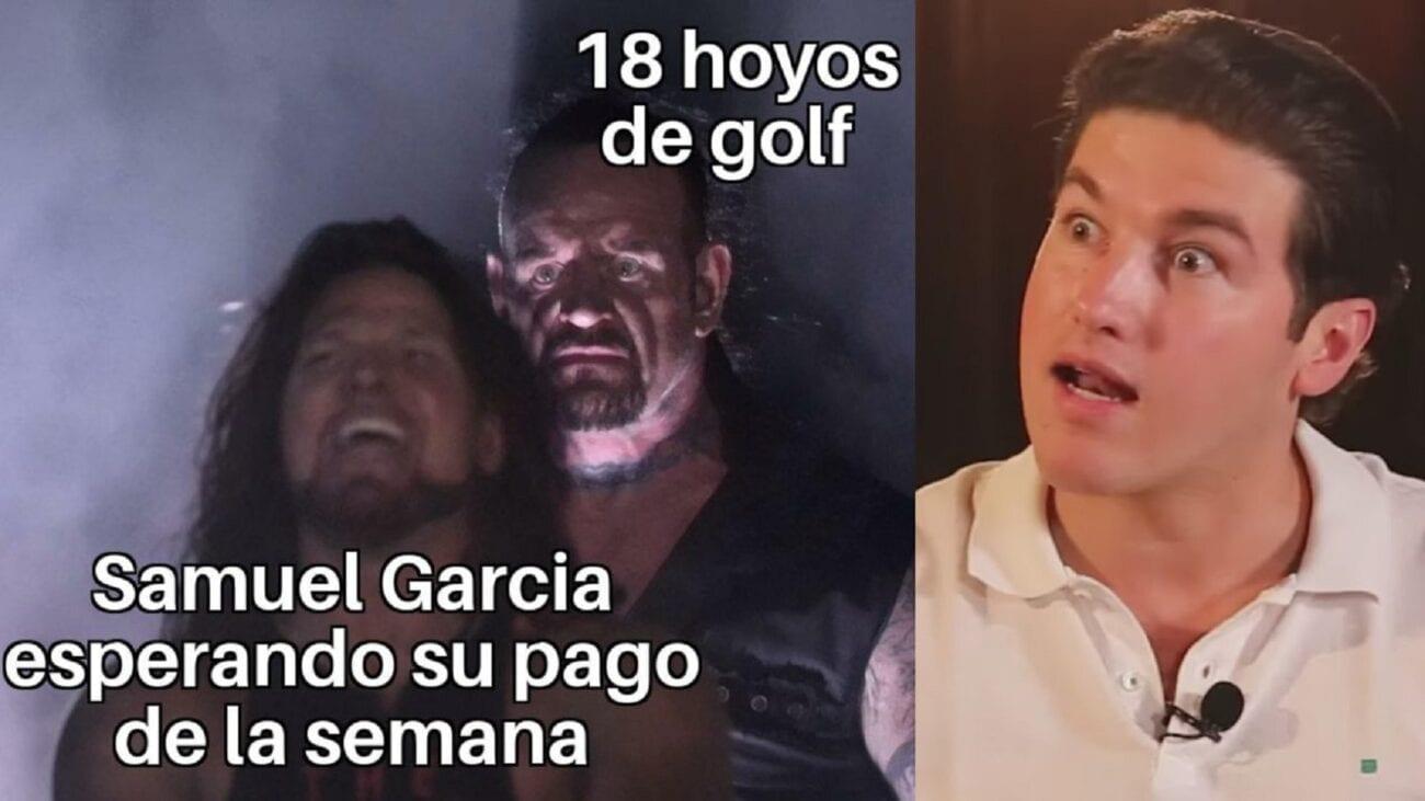 Si creías que tu vida era difícil, tienes que ver los memes de lo difícil que ha sido la vida para Samuel García.