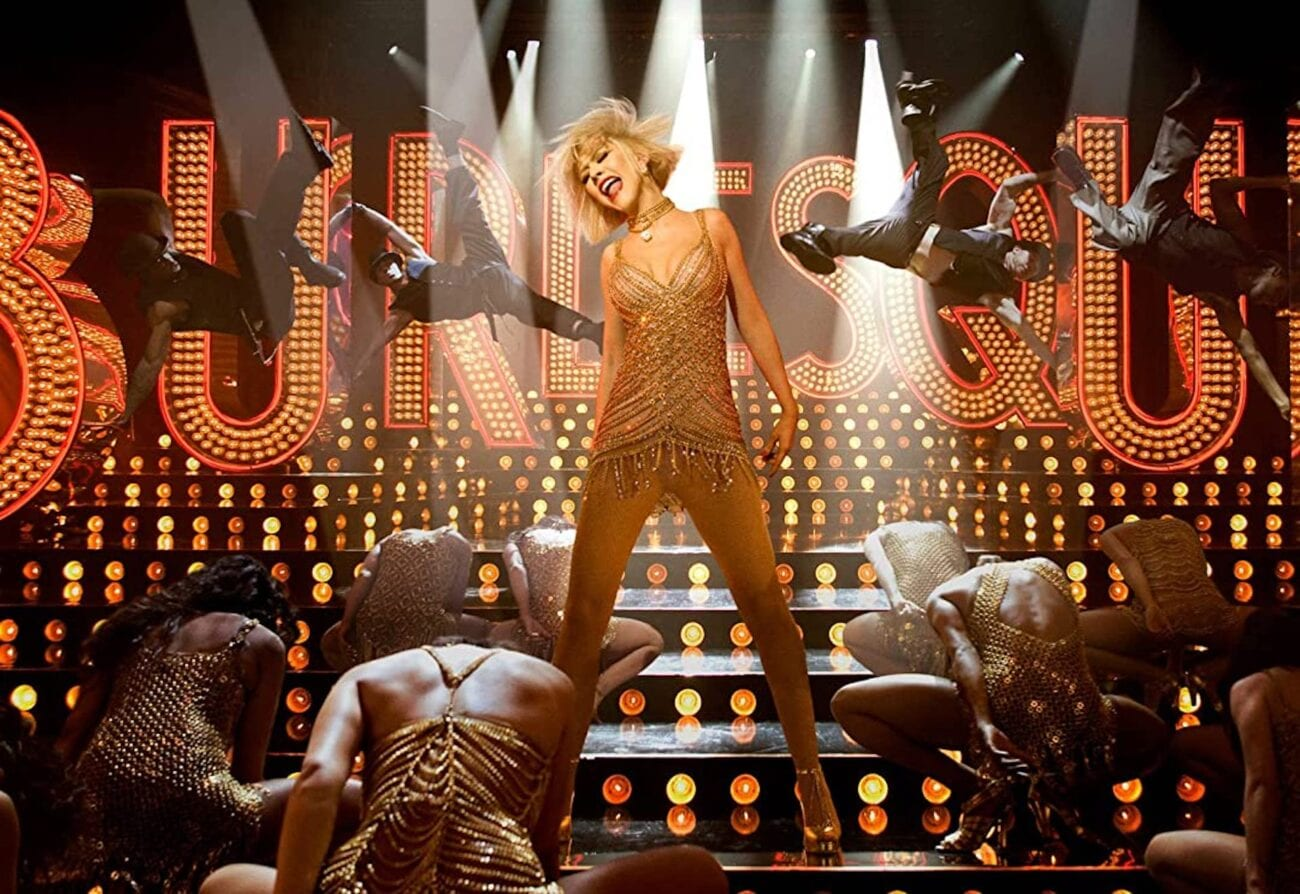 "So wrong, yet it feels so right. Take a look back at the good, the bad, and the ugly of ""Burlesque"" and relive Christina Aguilera's monstrous performance."