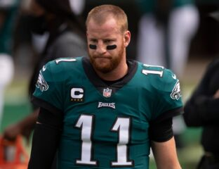 Will Carson Wentz's stats be affected by the Eagles QB situation? Take a look at Wentz's season so far and his uncertain future in Philadelphia.