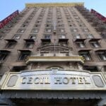 """The Cecil Hotel is an infamous Los Angeles landmark. The hotel is the subject for a 2 hour """"Ghost Adventures' special. Read about the hotel's dark history."""