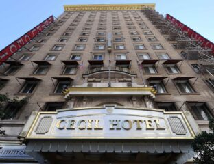 The Cecil Hotel is an infamous Los Angeles landmark. The hotel is the subject for a 2 hour
