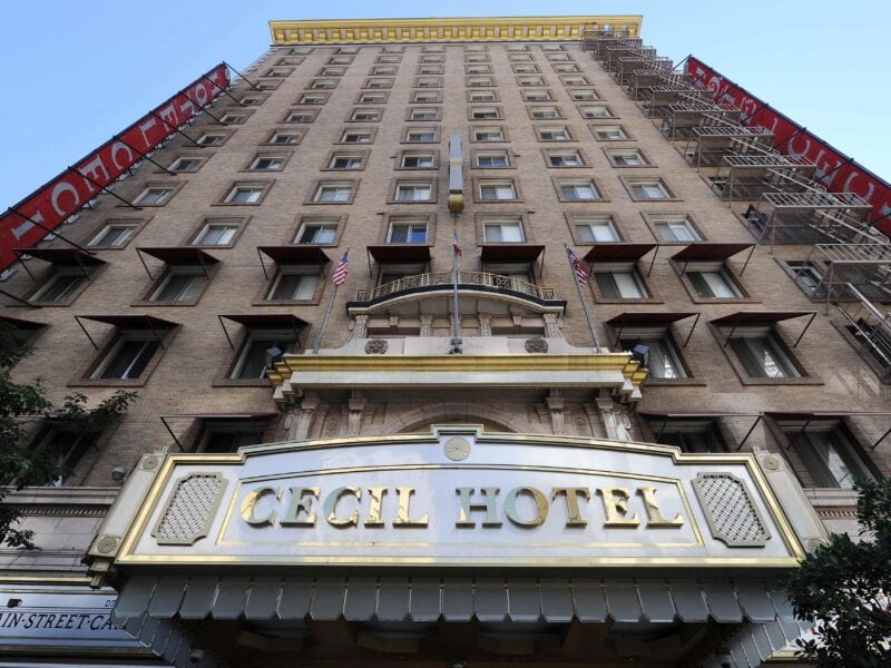"The Cecil Hotel is an infamous Los Angeles landmark. The hotel is the subject for a 2 hour ""Ghost Adventures' special. Read about the hotel's dark history."