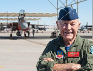 Chuck Yeager, the original supersonic man, died on Monday, Dec. 7, 2020. Here's a look back at his legacy.