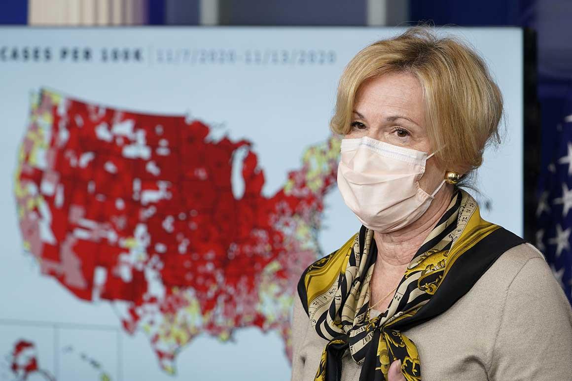 After Embarrassing Thanksgiving Travel Scandal, Deborah Birx To Retire