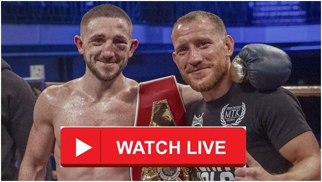 Jazza Dickens is fighting Ryan Walsh for the featherweight title. Find out how to stream the boxing match anywhere for free.