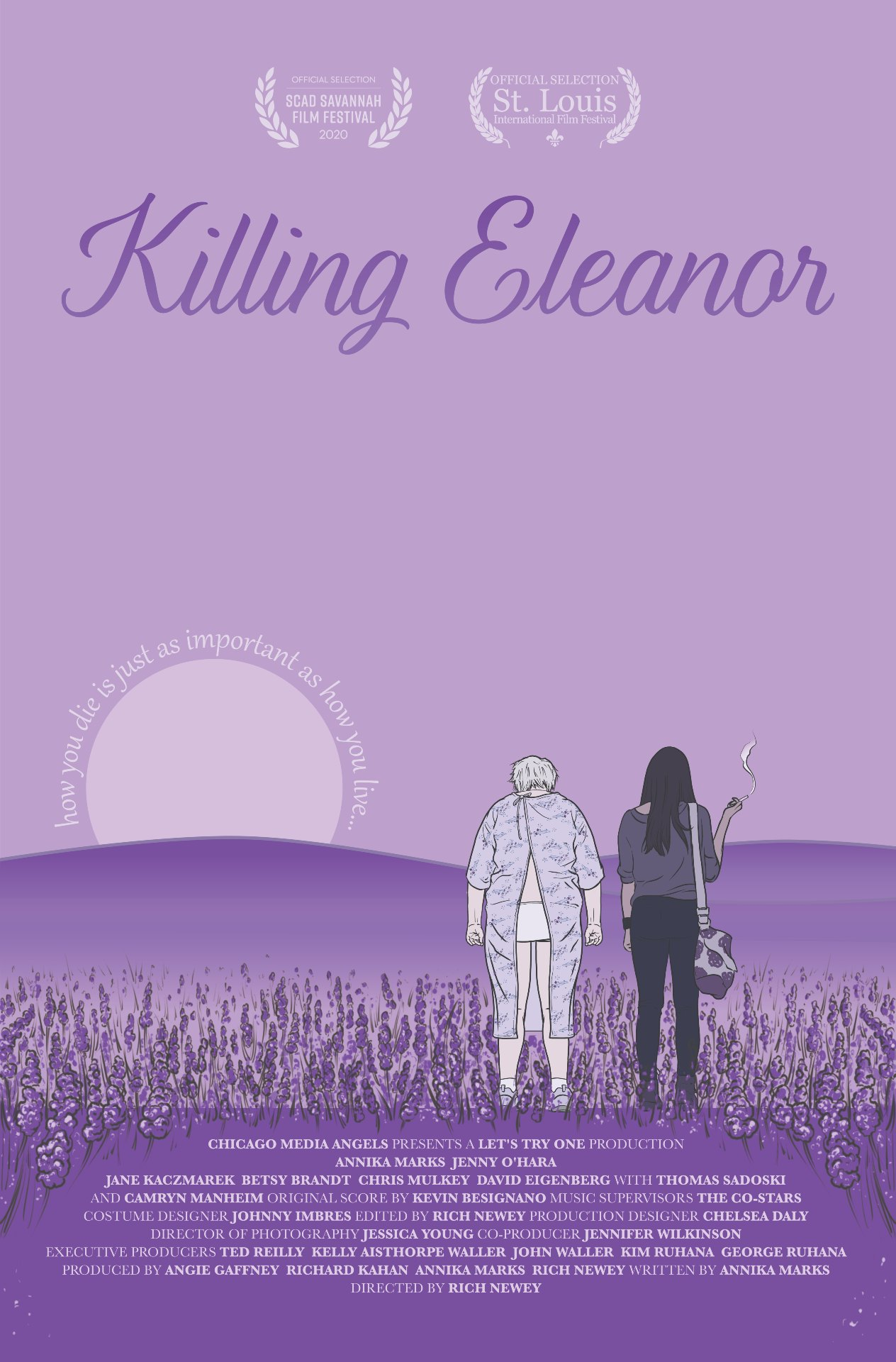 'Killing Eleanor' is the new film by director Rich Newey. We got a chance to interview Newey about the film and female representation.