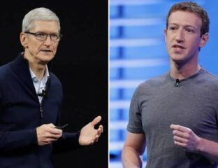 Facebook and Apple are going to war. This decade-long feud continues over Apple's new privacy update to prevent tracking. Whose side are you on?
