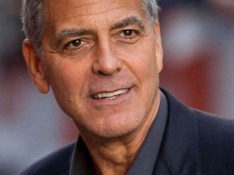 Even with his megamillion net worth, George Clooney cuts his own hair. What's in his crazy DIY haircut arsenal? Find out here.