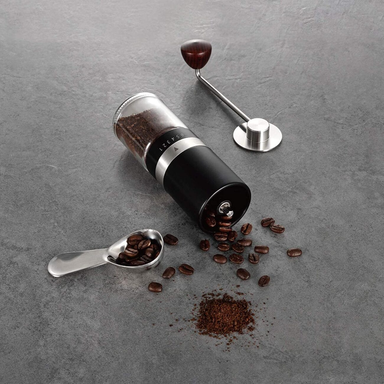 If you need to give a gift to a coffee lover in your life, the Vevok Chef Manual Coffee Grinder couldn't be a more perfect gift.