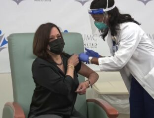 Senator Kamala Harris has officially gotten her first dose of the COVID-19 vaccine. What other politicians have gotten the jab?