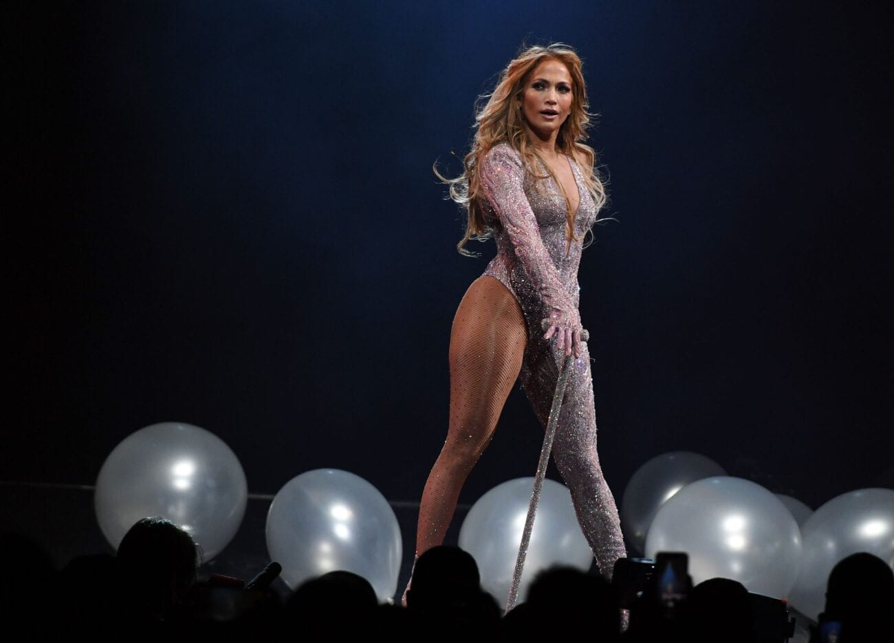Jennifer Lopez is nearly nude as she poses in tiny