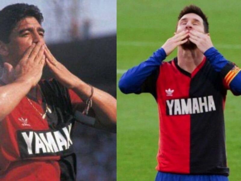 La camiseta con la que Messi homenajeó a Diego Maradona está a la venta. Entérate de cómo conseguirla.