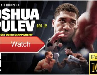 Anthony Joshua vs Kubrat Pulev is here. Find out how to live stream the heavyweight fight on Reddit.