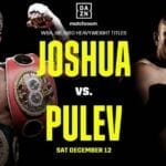 Make sure you're able to catch the Joshua vs Pulev fight! Here's how to stream the event for free.