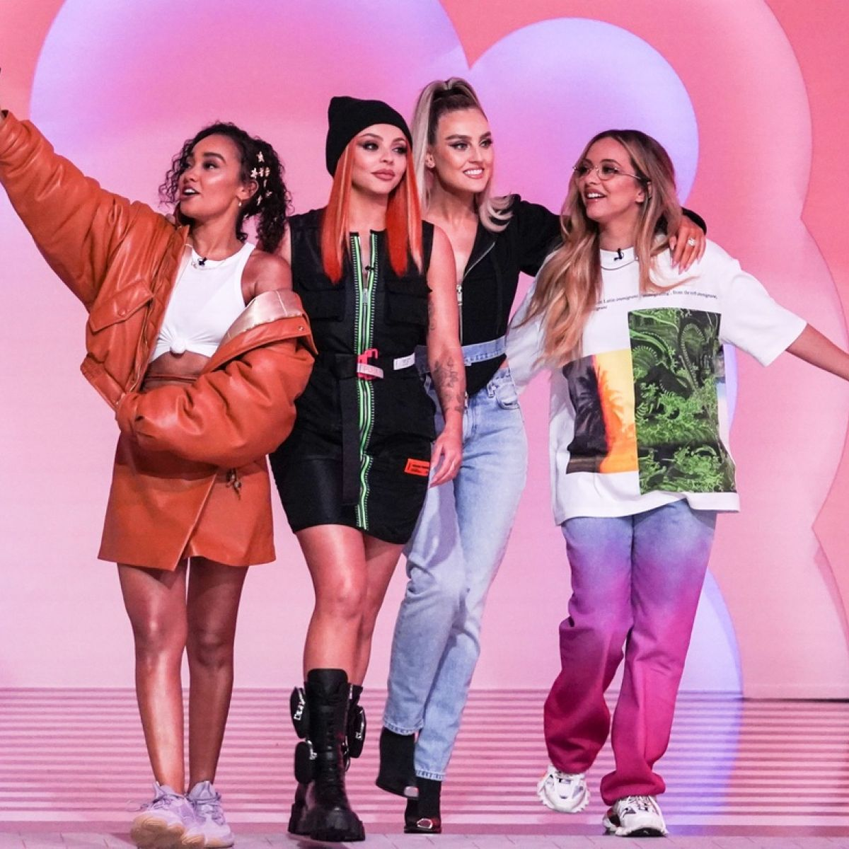 Little Mix continues as a trio group without Jesy Nelson