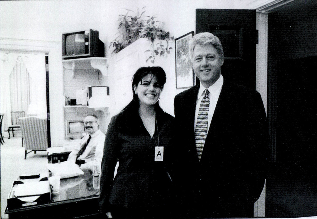 An op-ed is coming to light from Misha Collins about his time as an intern under the Bill Clinton presidency. But the way he describes it is bizarre.