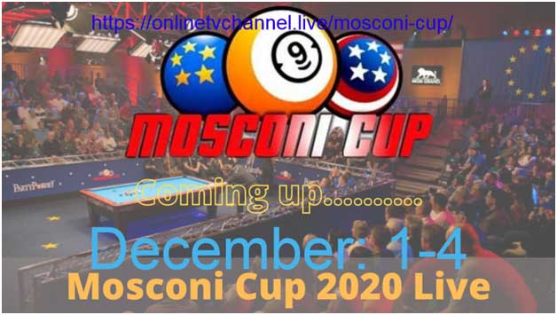 Pool lovers have to check out the Mosconi Cup. Here's where you can see live streams of all the competitions.
