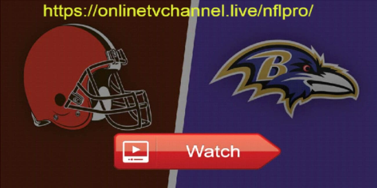 The Browns vs Ravens game is playing today on Monday Night Football! Here's how to catch a live stream of the event.