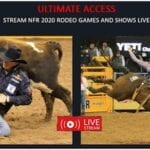 NFR fans are welcome to watch National Finals Rodeo 2020 live stream online on your devices. Here's how.
