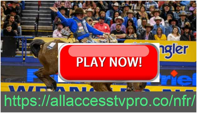 Check out these live streams of the Wrangler NFR 2020 competition December 3rd - 12th.