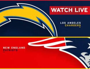 The New England Patriots will take on the Los Angeles Chargers at home in week 13 in an NFC North matchup. Live stream it here.