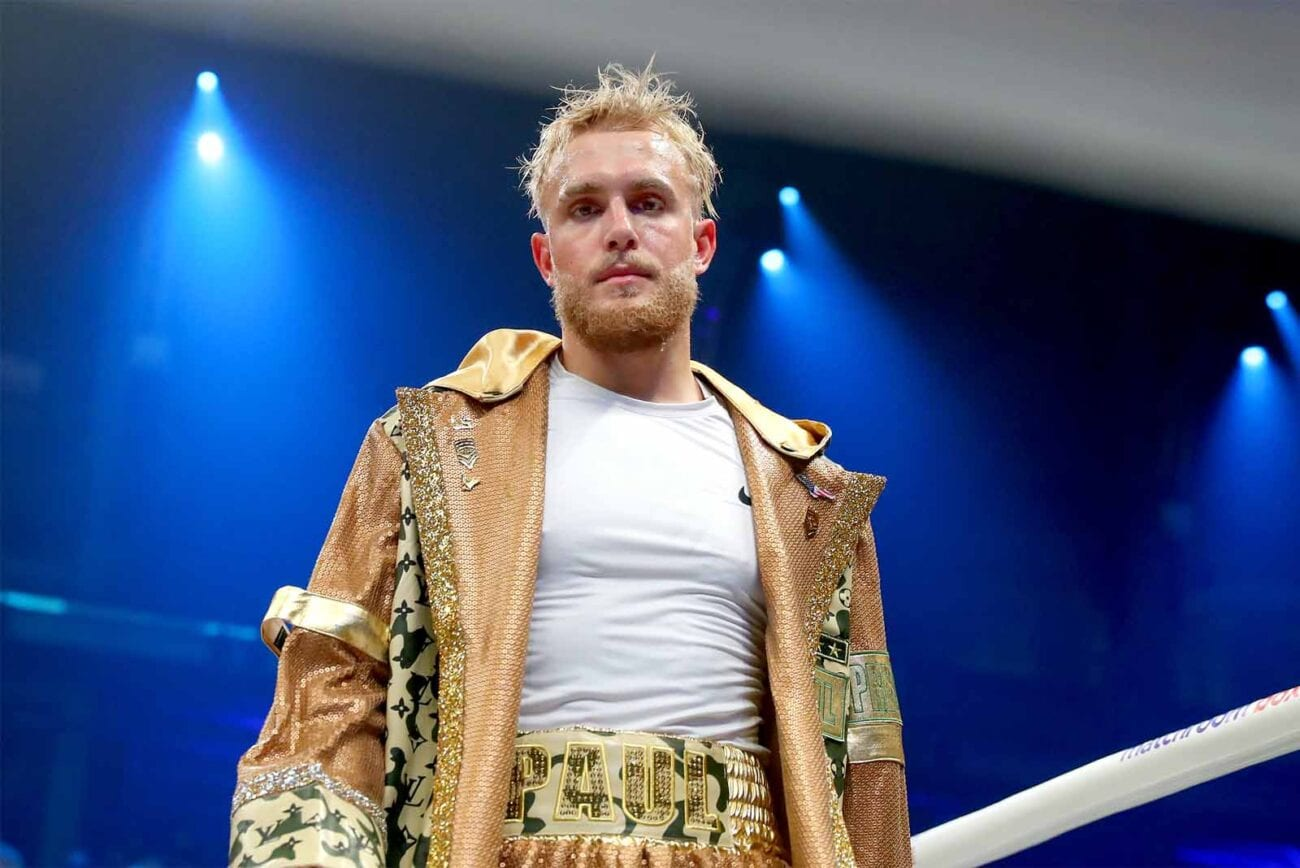 Jake Paul is so desperate to feel the not-so-gentle caress of McGregor's glove smashing into his face that he's antagonizing the boxer to get him to fight.