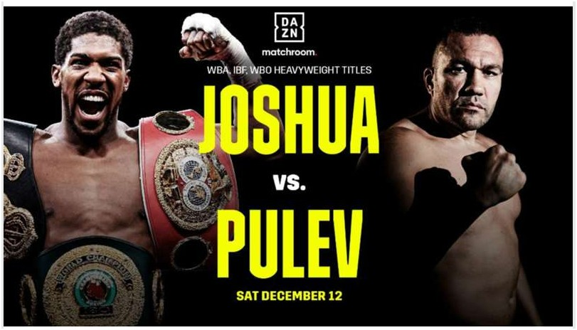 Anthony Joshua vs Kubrat Pulev is the fight of the winter. Discover how to stream the fight on Reddit.