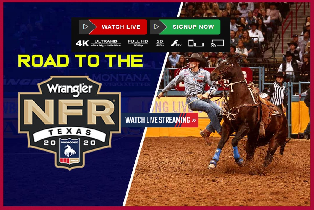 The NFR 2020 Live Stream is taking place at Globe Life Field, home of the Texas Rangers. Here's how you can tune in.