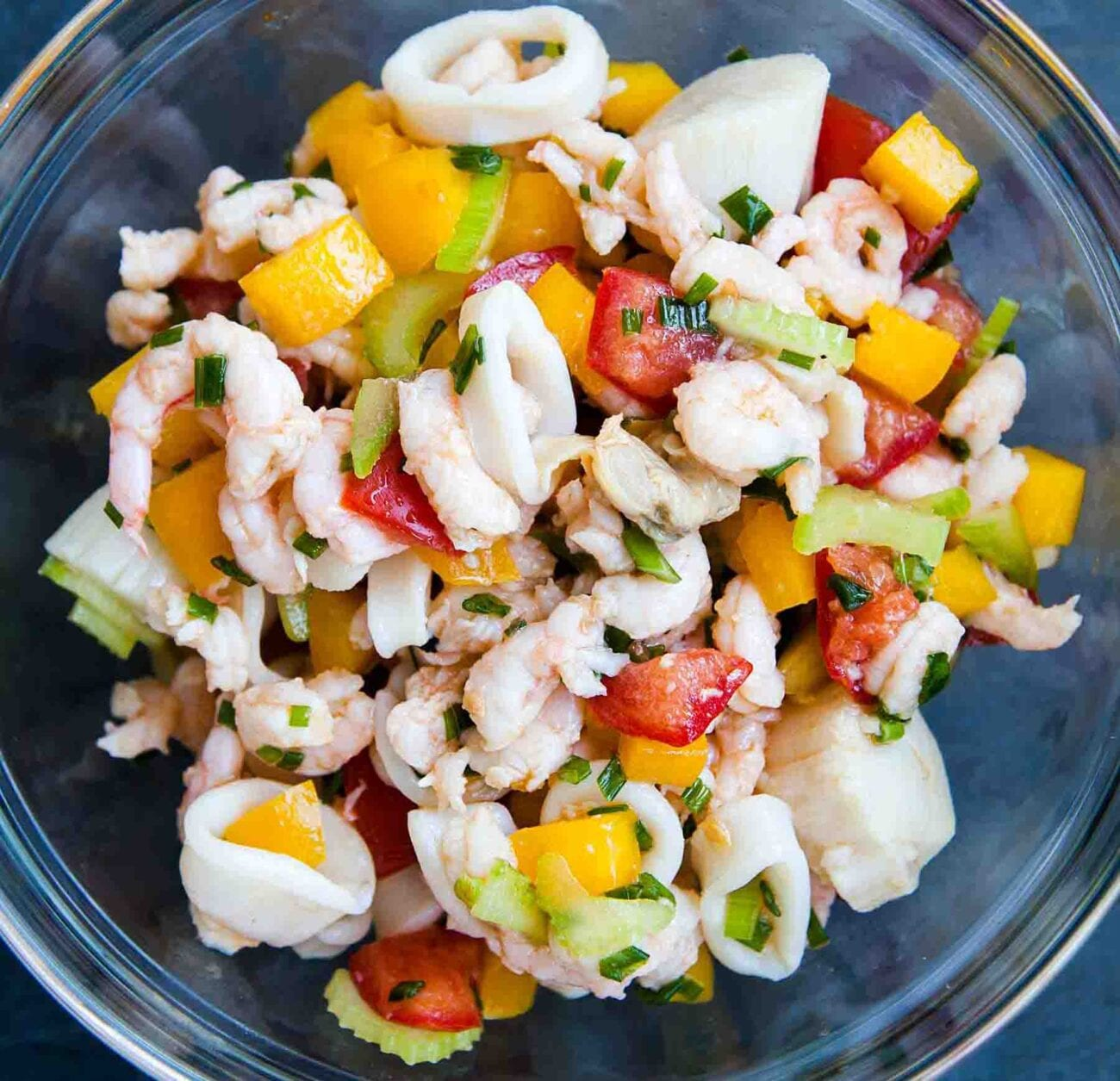 Looking to impress everyone this Christmas? Try this seafood salad recipe that will make everyone want seconds.